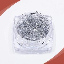 شعيرات معدنية فضي