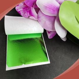 أوراق معدنية أخضر