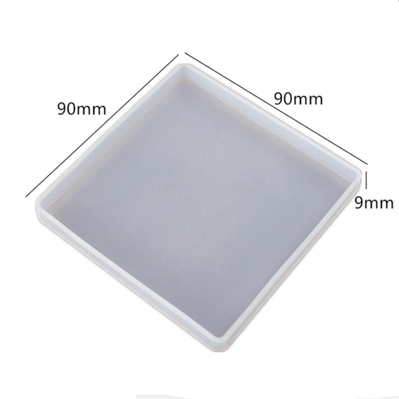 قالب حاملة كوسترات مربعة مع كوستر مربع